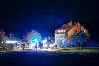 Nächtlicher Brand in Steinigtwolmsdorf