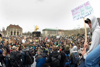 Streiktag Nummer 4 für Dresdens Schüler