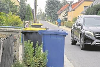 Umstrittene Mülltonnen-Barrikaden in Schleife