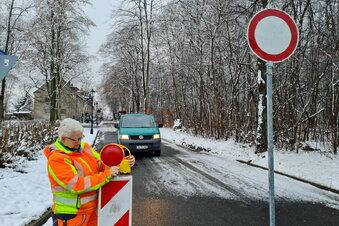 Schneebruch: Harthaer Straße weiter gesperrt