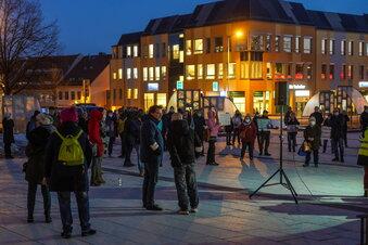 Neue Corona-Proteste in Bautzen
