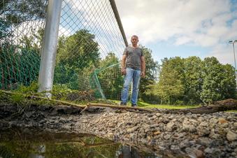 Nach dem Hochwasser: Was wird aus Wilthens Sportplatz?