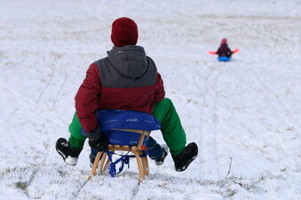 Schnee zieht Menschen ins Erzgebirge