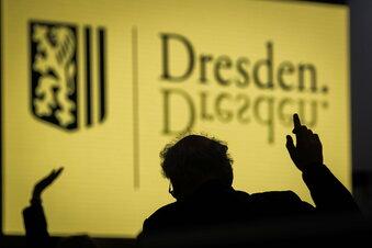 Corona und Fernsehturm im Dresdner Stadtrat