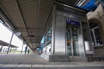 Vandalismus am Bautzener Bahnhof