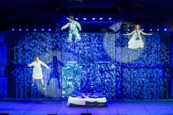 """So war """"Peter Pan"""" im Theaterzelt Rathen"""