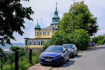 Wahnsdorfer beharren auf Parkplatz am Spitzhaus