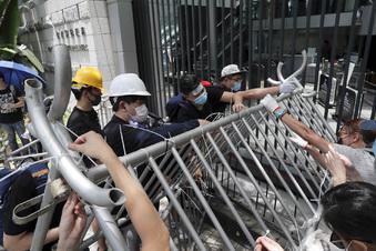 Hongkong kommt nicht zur Ruhe