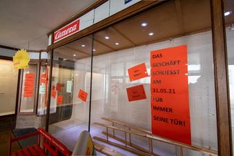 Ab Dienstag steht der nächste Laden in Roßwein leer