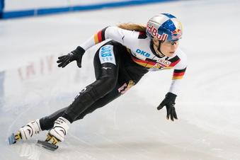Dresdner Shorttrackerin Anna Seidel auf Olympiakurs