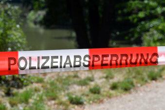Nach Leichenfund: Polizei pumpt Teich ab