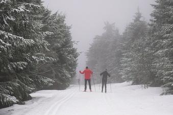 Kaltfront bringt Schnee ins Erzgebirge
