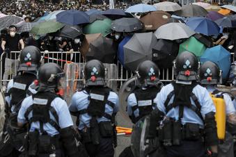 Eskalation bei Protesten in Hongkong