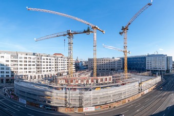 Jüngster Postplatz-Neubau wächst