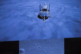 China bringt Mondgestein zur Erde