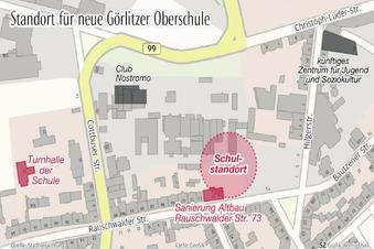 Hier entsteht die neue Görlitzer Oberschule