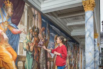 Renaissance-Fresko für Dresdner Residenzschloss