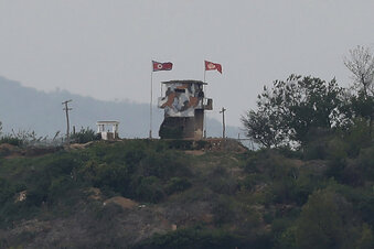 Zwischenfall an der koreanischen Grenze
