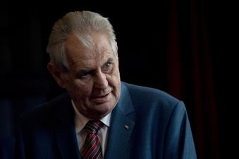Tschechiens Präsident auf dem Weg der Besserung