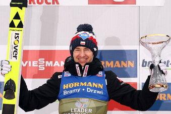 Der Skispringer, der plötzlich Topfavorit ist
