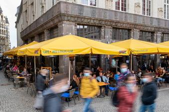 Corona: Sieben-Tage-Inzidenz in Sachsen knapp über 100