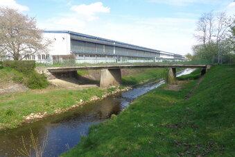 Neue Brücke über den Röderneugraben