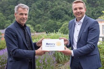 Weißes Gold für Meißner Rotarier