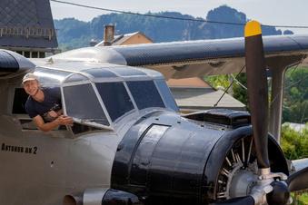 Sächsische Schweiz: Antonov fast komplett