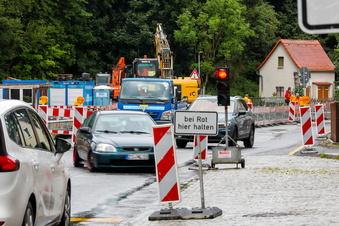 Ebersbach: B96 für knapp zwei Wochen komplett dicht