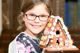 Kleine Schauspielerin auf Striezelmarkt-CD