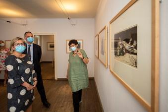 Kulturministerin besucht Kollwitz-Haus
