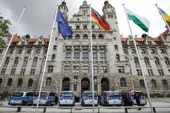 Bombendrohung gegen Leipziger Rathaus