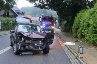 Dienstagmorgen: Zwei Unfälle, drei Verletzte