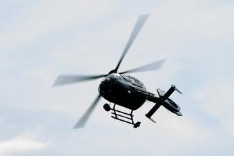 Bundespolizei verteidigt Hubschrauberflüge