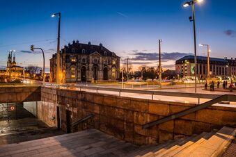 Im Juni startet Tunnelabriss am Neustädter Markt
