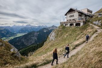 Alpen: Schwierige Hütten-Saison befürchtet
