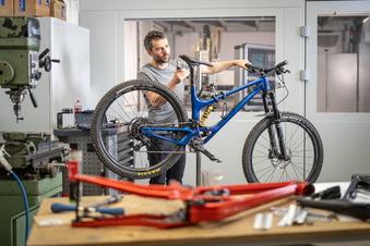 Mein Rad ist einzigartig – und aus der Region
