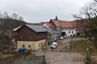 Schloss Lauenstein auf Verjüngungskur