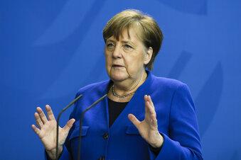 """Merkel: """"Noch lange nicht über den Berg"""""""