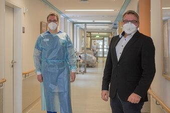 Bautzen: Corona-Lage in den Kliniken entspannt sich