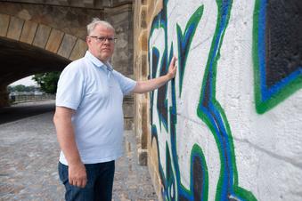 Wenn Graffiti auf Sandstein trifft