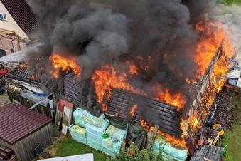 Brandermittler beenden Arbeit