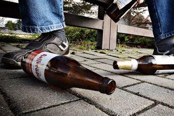 Alkoholverbot und Ausgangssperre