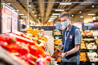 Anders und schnell: Einkaufen mit dem Handscanner