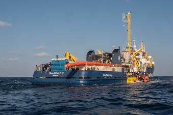 """""""Sea-Watch 3"""" in Sizilien festgesetzt"""