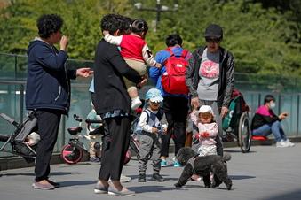 China erlaubt bis zu drei Kinder pro Familie
