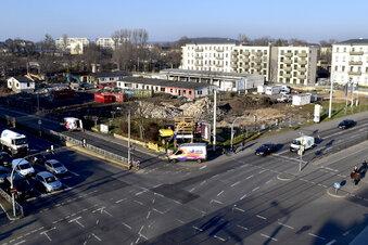 Abriss an der Königsbrücker Straße