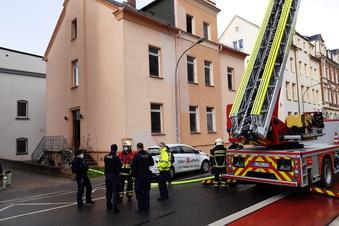 Döbeln: Brand in leerstehendem Haus