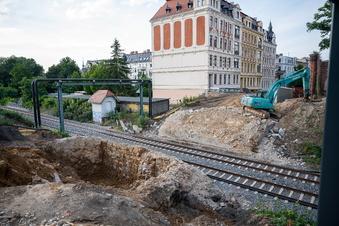 Görlitzer Straßenbauten liegen im Zeitplan