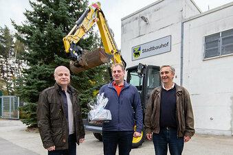 Zwei neue Bagger für den Bernsdorfer Bauhof